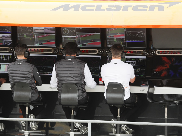 Real-time, reliable data to inform decision-making is used in both F1 and the rail network