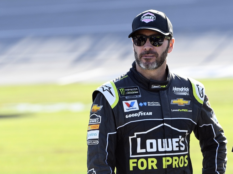 Jimmie's neck and shoulder muscles will be put to the test