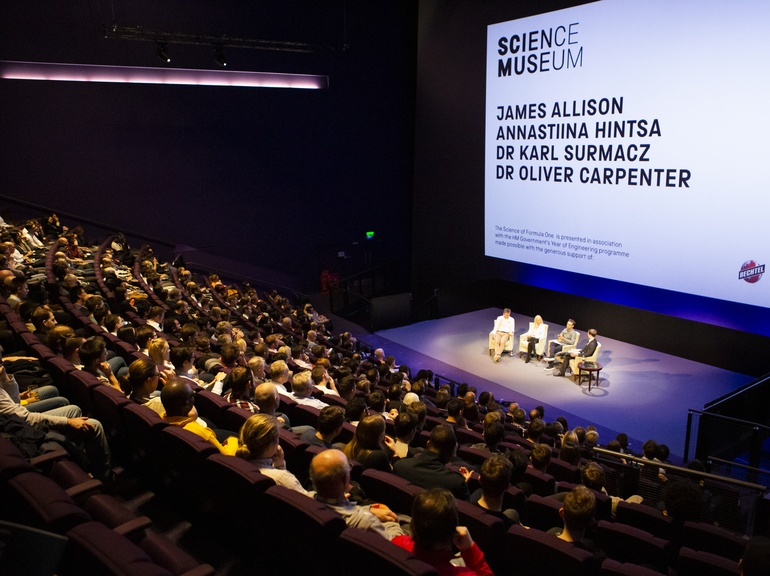 Karl was joined by a distinguished panel of experts and a packed audience at the Science Museum