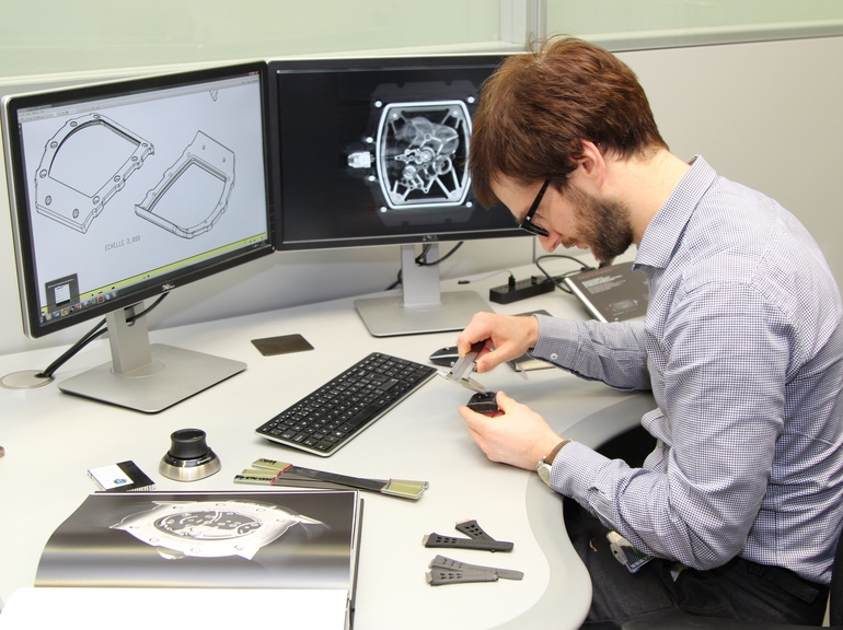 Dr Broderick Coburn of McLaren Applied Technologoies performed material characterisation