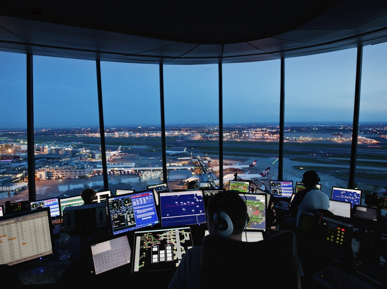 Thousands of simulations are conducted during every second of the dynamic airfield environment