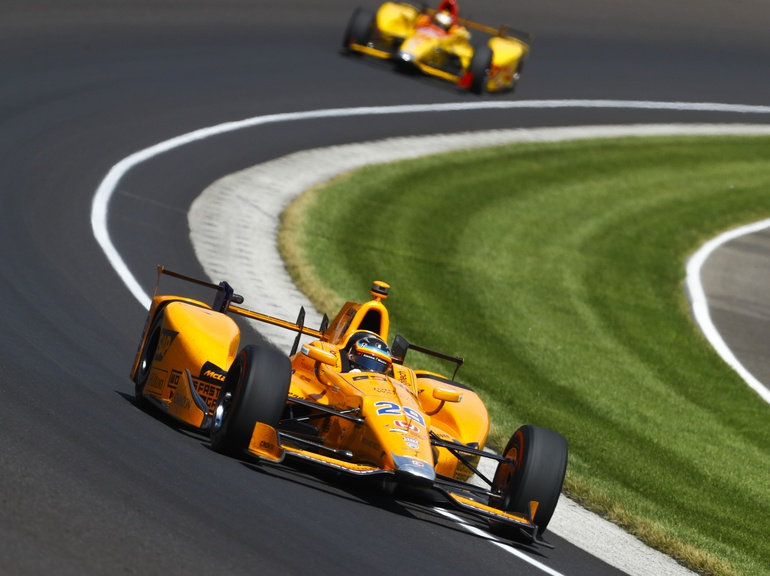 McLaren Applied Technologies celebrated 10 years of IndyCar partnership at the Indy500 in 2017