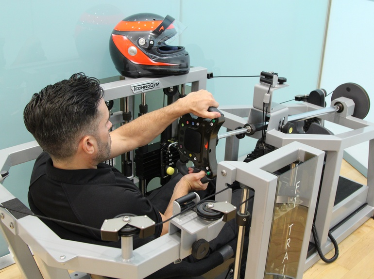 Technogym's F1 trainer prepares Drivers for extreme forces
