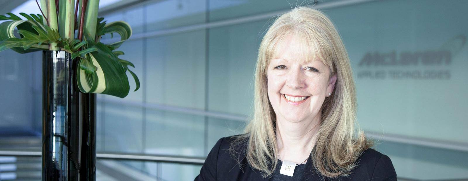 CELIA GAFFNEY JOINS McLAREN APPLIED TECHNOLOGIES AS COO