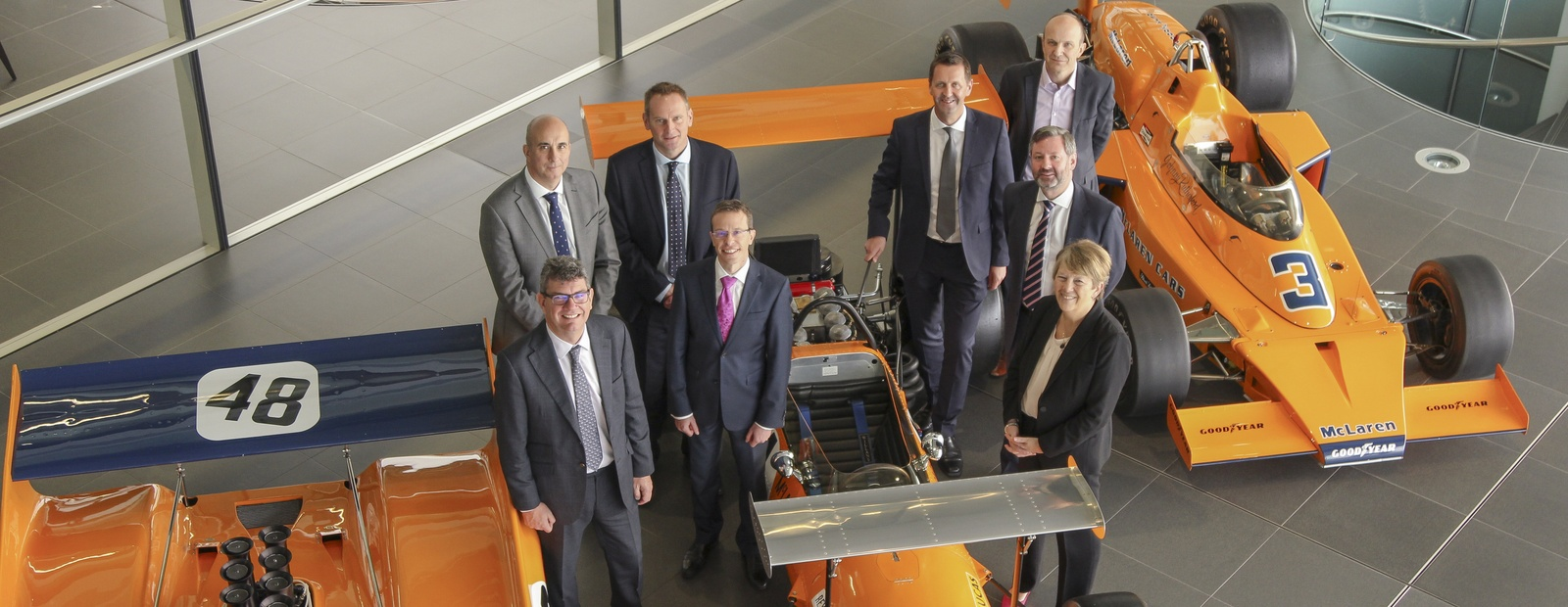 McLAREN DELOITTE AND NATS ANNOUNCE NEW COLLABORATION